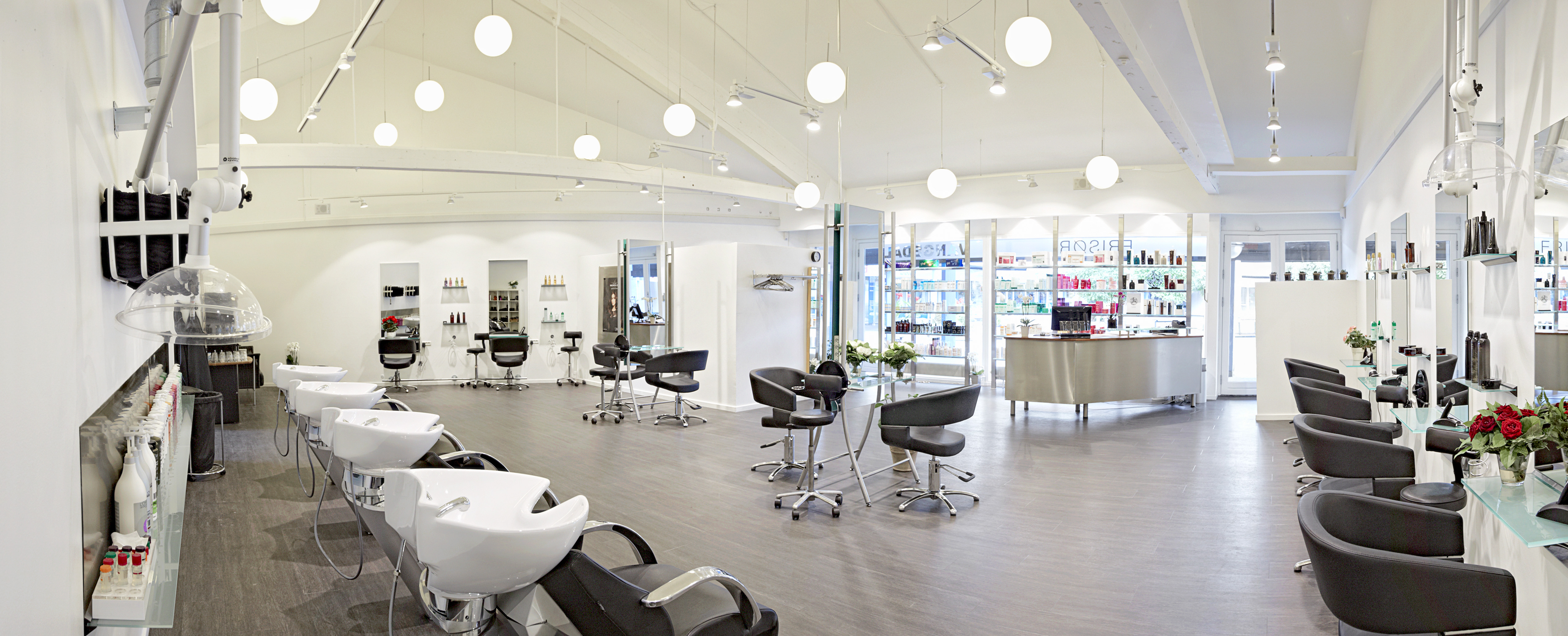 frisør saloner